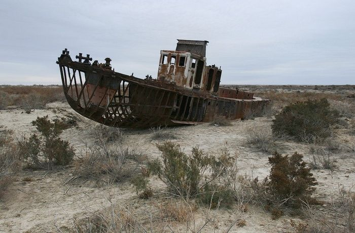 aral sea 16 - The Dead One,Aral Sea
