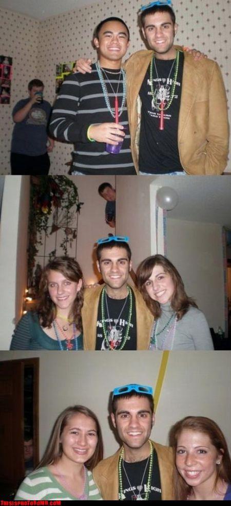 Gente cagando las fotos....