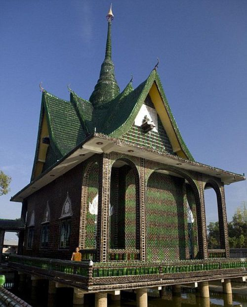 Temple Built Out Of Beer Bottles Temple_built_out_of_beer_bottles_10