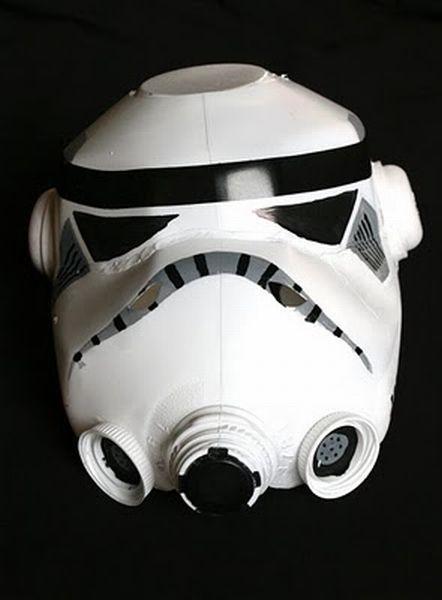 Hacer tu máscara de Stormtroopers (Star Wars)