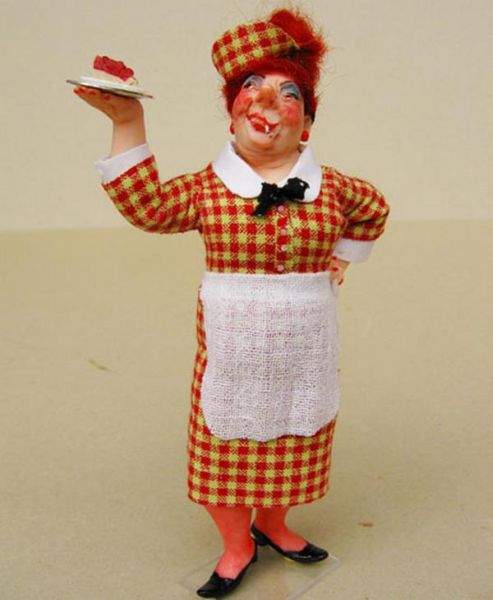 Ugly waiter doll