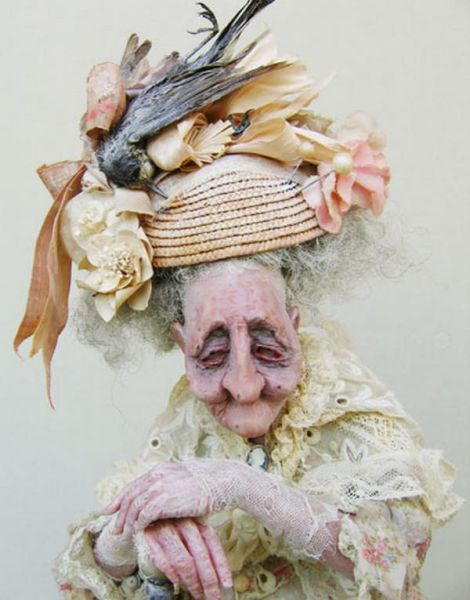 Ugly old Woman Doll