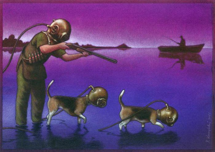 Pawel Kuczynski Satiric_drawings_07