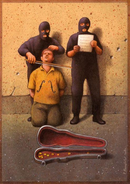 Pawel Kuczynski Satiric_drawings_18