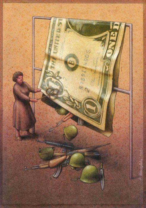 El genial arte de Pawel Kuczynski.