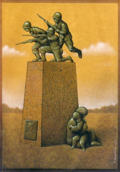 Pawel Kuczynski Satiric_drawings_31