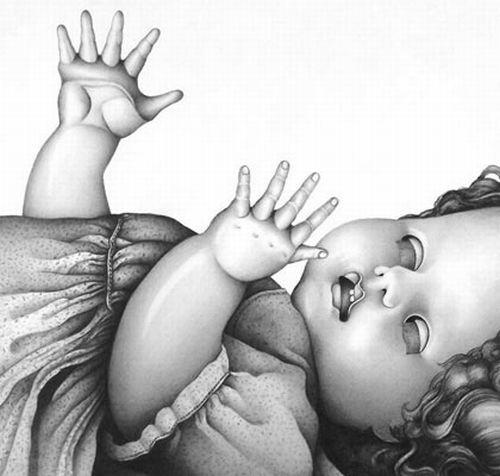 Muy Realista Dibujos En Blanco y Negro
