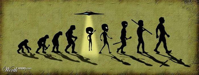 La evolución del hombre en imagenes