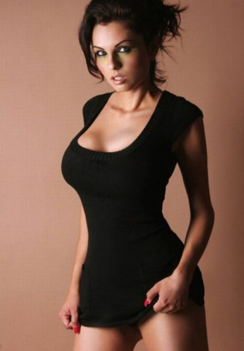 Sey Black Girl Tight Dress